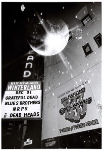 Mirror Ball transposed on 1978 poster