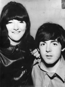 Freda Kelly & Paul McCartney