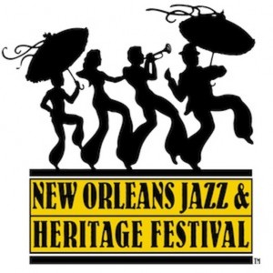 Jazz Fest parade logo