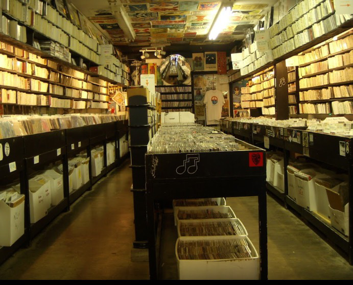Record store - CD Alley